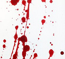 Blood Spatter 10 by jenbarker