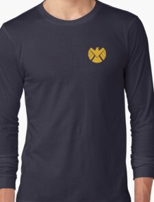 Agents of SHIELD (Gold) Long Sleeve T-Shirt