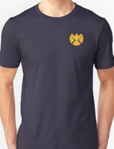Agents of SHIELD (Gold) Unisex T-Shirt