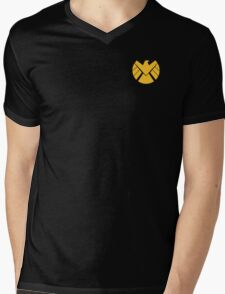 Agents of SHIELD (Gold) Mens V-Neck T-Shirt