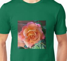 Sunrise Climber in Early Morning Light (Square Format) Unisex T-Shirt