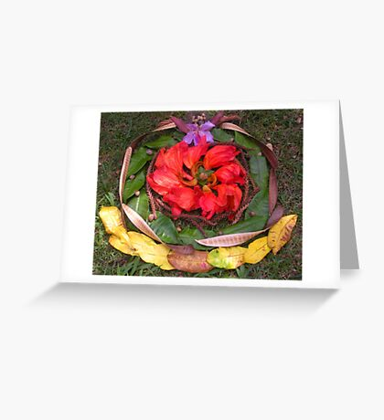 Coloured Crown Greeting Card
