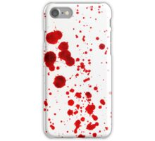 Blood Spatter 1 iPhone Case/Skin