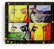 Ode To Warhol Canvas Print