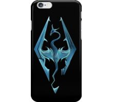 Skyrim logo iPhone Case/Skin
