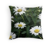 Daisy Patch Throw Pillow
