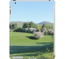 Paddock with Farming equipment iPad Case/Skin