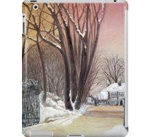 Bigger house Spout Hall iPad Case/Skin