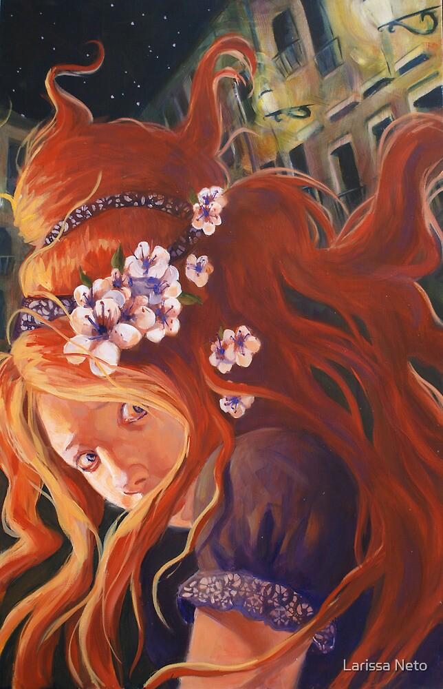 Plum Girl by Larissa Neto