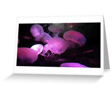 Moon Jellies Greeting Card
