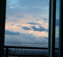 Sunshine out my window makes me happy by Samie-B