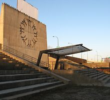 Place de Nations, Expo 67 by AJ Belongia