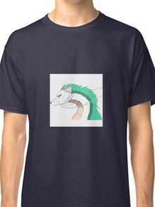 Spirited away haku fan art Classic T-Shirt