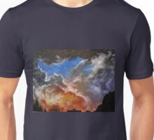 Northern night sky Unisex T-Shirt