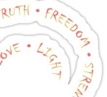 Love Spiral Sticker