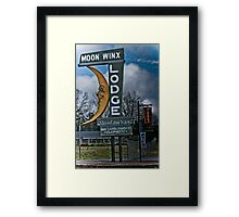 moon winx lodge Framed Print