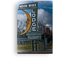 moon winx lodge Canvas Print