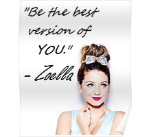 Zoella - Be YOU Poster