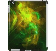 Alien Code 2 Yellow Green iPad Case/Skin