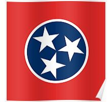 Tennessean Flag Poster
