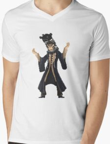 Pixelborne - Micolash Mens V-Neck T-Shirt