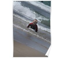 Junior Bodysurfer... Poster
