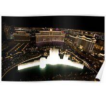 explosion - bellagio casino, las vegas Poster