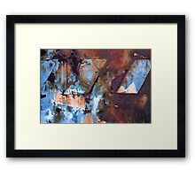 Leaning Towers Framed Print