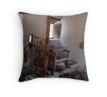 Mission San Jose Grist Mill Throw Pillow