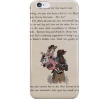 The Queen of Pirate Isle Bret Harte, Edmund Evans, Kate Greenaway 1886 0050 Pirate Carry iPhone Case/Skin