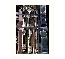 San Francisco Reflection 26 Art Print