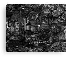 My Desk is a Mess!!!  Canvas Print