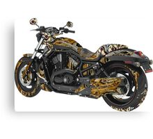 Steampunk Motorcycle Canvas Print