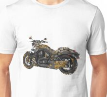 Steampunk Motorcycle Unisex T-Shirt