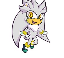 Silver The hedgehog by ArtistBlock