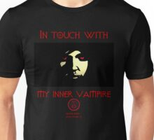 In Touch With My Inner Vampire Unisex T-Shirt