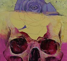 Skull Flower by Michael Creese