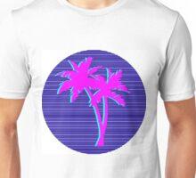 palm trees vaporwave Unisex T-Shirt