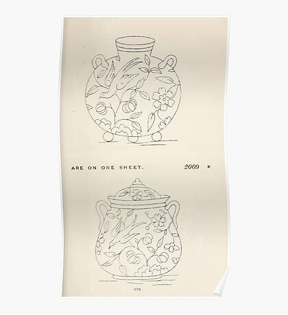 Briggs & Company Patent Transferring Papers Kate Greenaway 1886 0129 Poster