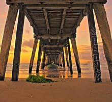 Under the Jetty Sunset by ANGRE