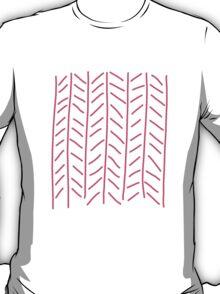 Modern Art in coral T-Shirt