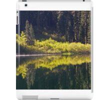 Lower Lindsay Lake Reflections  iPad Case/Skin