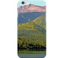 Pikes Peak and Crystal Lake, Colorado, USA iPhone Case/Skin