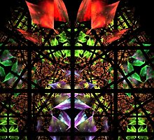 stained glass window by vivien styles