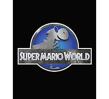Jurassic Mario World Photographic Print