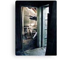 28.4.2010: Welcome to Deathtrap Canvas Print