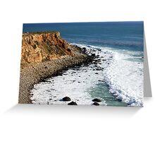 California Coastline 0451 Greeting Card