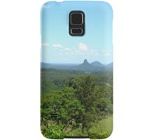 Glasshouse mountains (2) Samsung Galaxy Case/Skin