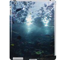 Underwater view from below iPad Case/Skin