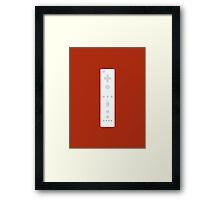 Nintendo Wii Remote Framed Print